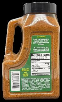 Billy Bones BBQ Competition Rub Nutrition Information