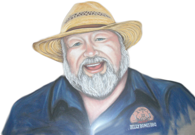 Billy Bones BBQ Portrait