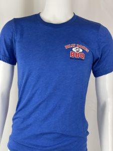 Billy Bones BBQ tshirt blue